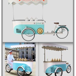Fabulous Ice Fires Ice Cream Cart