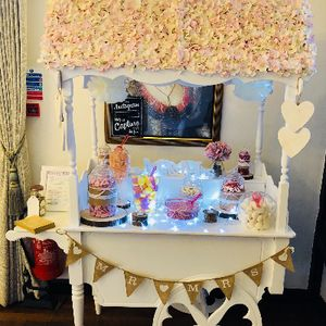 KANDY KONES UK Sweets and Candy Cart