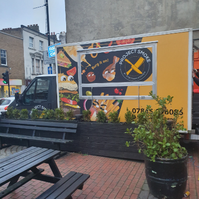 Streatham Kitchen Burger Van