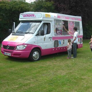 Giorgios  Ice Cream Vans Food Van