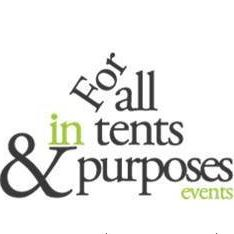 For All In Tents & Purposes Stretch Marquee
