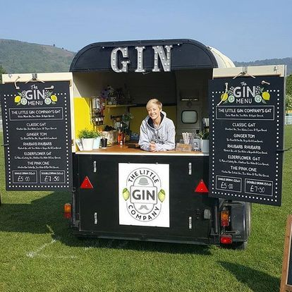 The Little Gin Company Mobile Bar