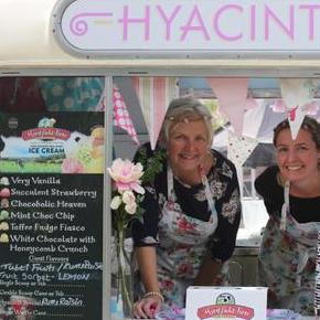 Hyacinth Vintage ice ceam van Ice Cream Cart