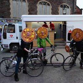 G Brothers Pizza Pizza Van