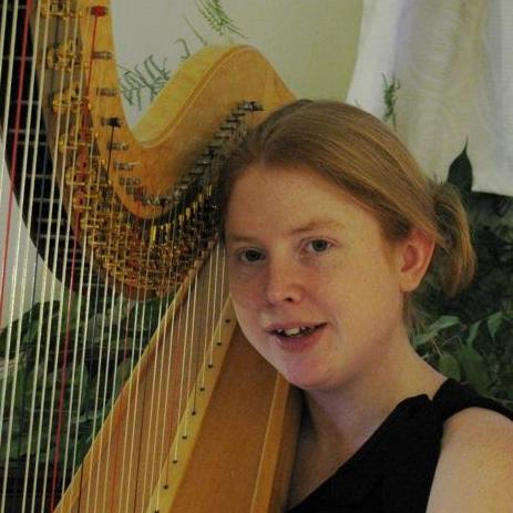 Katie McClaughry - harpist Harpist