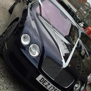 Whites Prestige Wedding car
