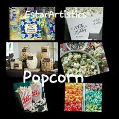 EstarArtistics Sweets and Candy Cart