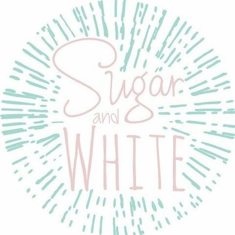 Sugar & White - Dessert and Sweet table Sweets and Candy Cart