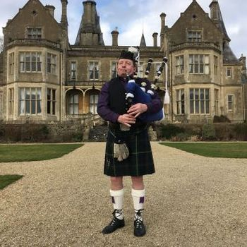 West Country Bagpiper Bagpiper