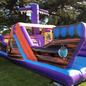 BRISTOL and WESTON SUPER BOUNCE Bouncy Castle