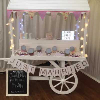 Sweet Galore Sweets and Candy Cart