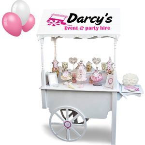 Darcy's Event & Party Hire Sweets and Candy Cart