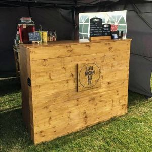 The Little Wooden Bar Company Mobile Bar