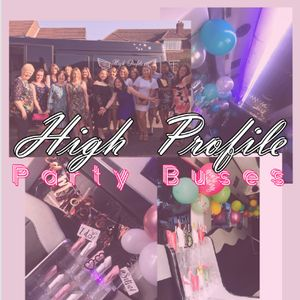 High Profile Party Buses Limousine