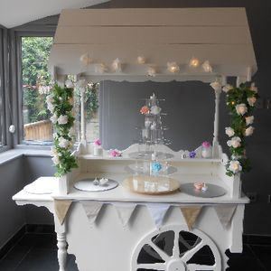 Sweet Tower Sweets and Candy Cart