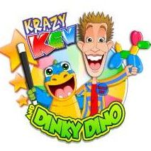 Krazy Kev and Dinky Dino Children's Magician