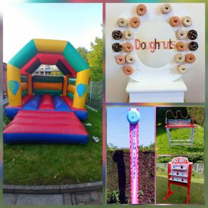 Fusion Inspire Wedding, Party & Event Hire Bouncy Castle