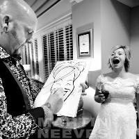 The Wedding Artist Caricaturist