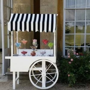 Cornwall Wedding And Party Hire Sweets and Candy Cart
