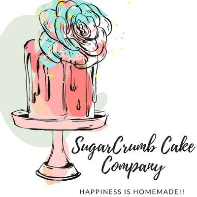 SugarCrumb Cake Company Sweets and Candy Cart