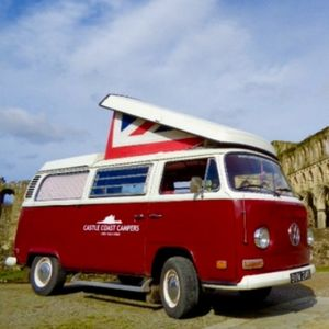 Castle Coast Campers Limited Vintage & Classic Wedding Car