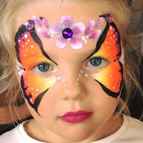 Sparkle Sam Face Painter