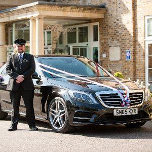 Guardian Chauffeurs Wedding car