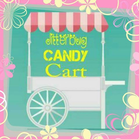 Michelle Frake - Jitterbug Candy Cart Sweets and Candy Cart