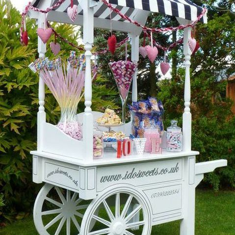 Zoe Stockwell Sweets and Candy Cart